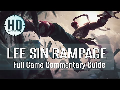 Lee Sin Jungle Full Gameplay Commentary - Diamond 4 - Analysis / Guide - League of Legends