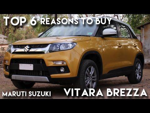 Top 6 reasons to buy Maruti Suzuki Vitara Brezza !!