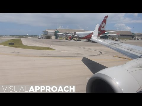 American Airlines Boeing B737-800 takeoff from Punta Cana