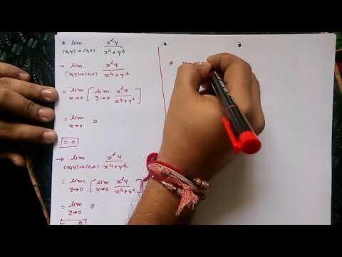 GTU Maths-1 [Calculus] Unit - Partial Derivatives In Gujarati