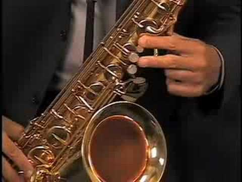 Hear and Play Tenor Saxophone 101 : The notes of the scale on the tenor sax along with breathing and fingering technique!