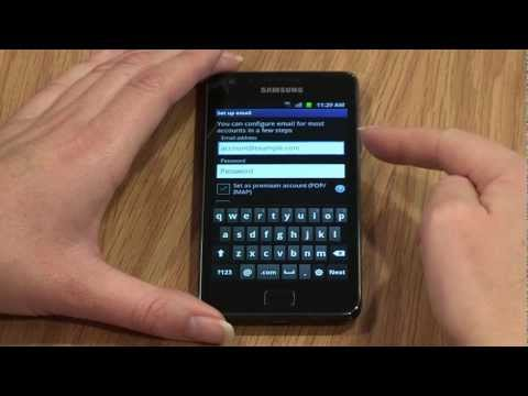 Getting started with your Samsung Galaxy S2