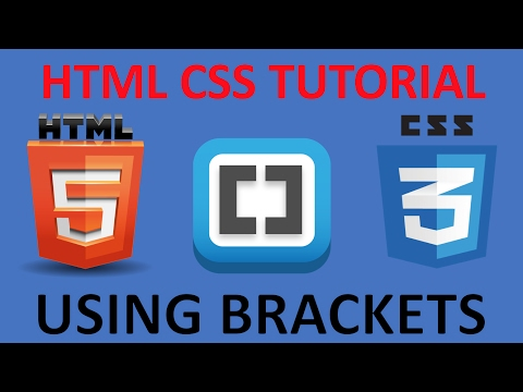 HTML and CSS Tutorial for beginners 2 - Creating Our First Website