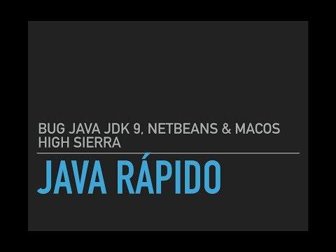 Bug Java JDK 9, Netbeans 8.2 & MacOS High Sierra