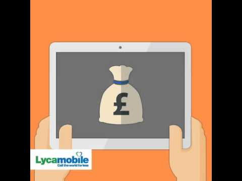 Lycamobile: Extra credit with auto top up
