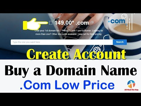 How To Create New Godaddy Account || Register New Domain Name Step by Step