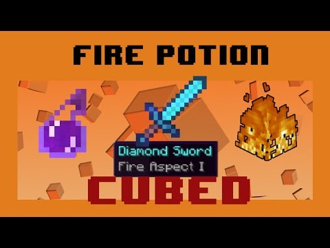 Fire Potions - Use Fire Aspect Swords to Burn Foes!