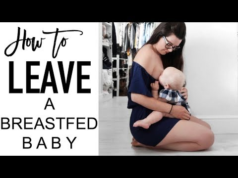 How to leave a breastfed baby overnight | BREASTFEEDING TIPS