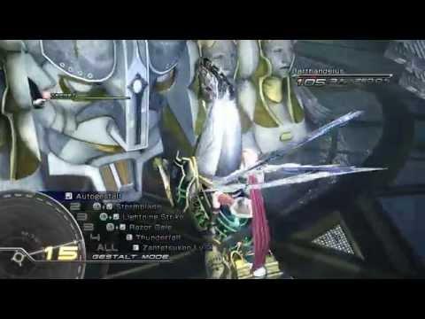 Final Fantasy XIII Eidolon ODIN - Final Boss part1