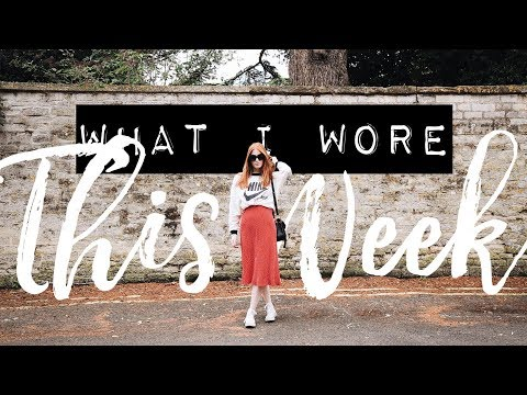 WHAT I WORE THIS WEEK | TRENDY TUESDAY | MsRosieBea