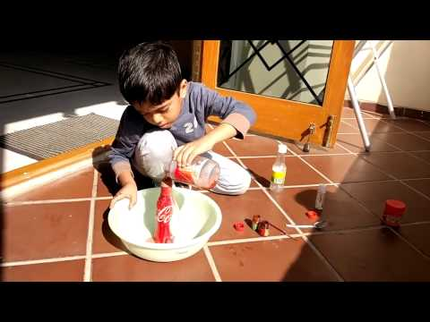 How to Make Volcano at Home II Simple and Easy Science Experiment II Project for Smart Kids