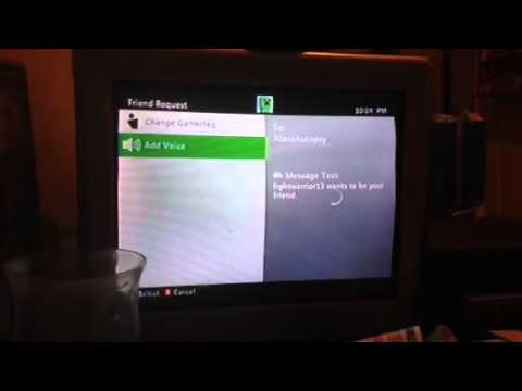 My Xbox 360 won't let me add other people