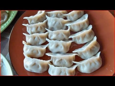 How to Make Dumplings & Wonton part 1 / Cooking Chinese Food 饺子, 馄饨