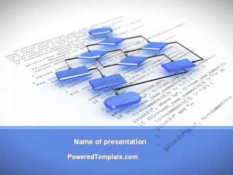 Bossy Flowchart PowerPoint Template by PoweredTemplate.com
