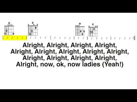 Hey Ya (Outkast) Chord and Lyrics Play-Along