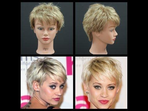 Kimberly Wyatt PIXIE Haircut Tutorial | TheSalonGuy