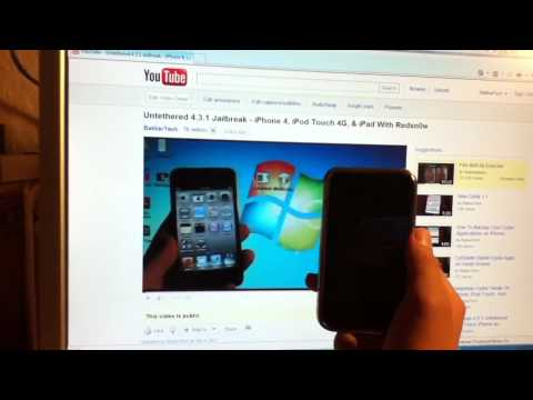 How To Jailbreak 4.3.2 iPhone 4/3Gs iPod Touch 4G/3G & iPad - Mac/Windows Redsn0w