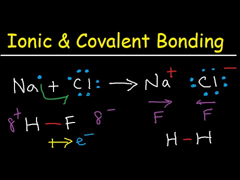Introduction to Ionic Bonding and Covalent Bonding