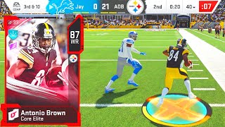 ANTONIO BROWN RETURNS TO THE NFL Madden 20 Ultimate Team Ep62
