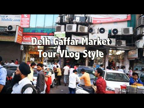Hindi | Delhi Gaffar Phone, Accessories, Repair Market Tour, Vlog Style