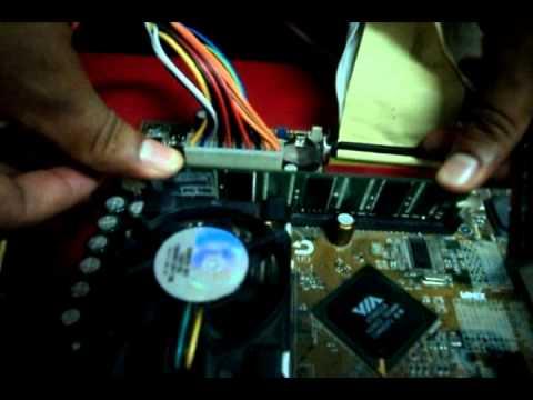motherboard y windows xp sp3
