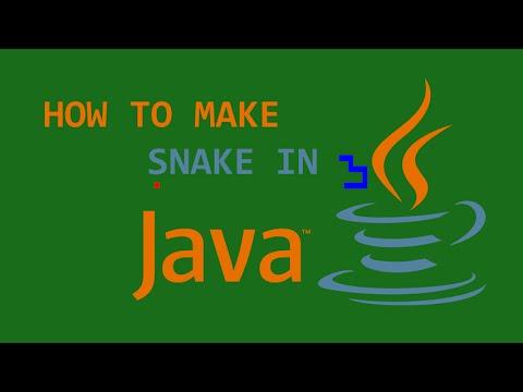 Programming Snake in Java! (Full Tutorial)