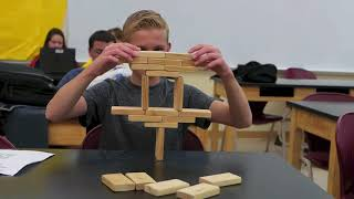 Building Block Challenge // Homemade Science with Bruce Yeany