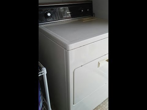Kenmore Electric 70 and 80 Series Dryer How to Attach the Front Panel to the dryer Replace Clip