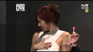 [20121020] Son Dam Bi (손담비) - SNL (3)