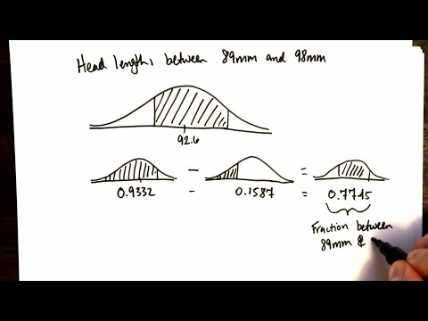 Normal Distribution (OpenIntro textbook complement)