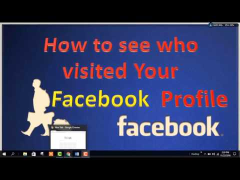 How to see who views your facebook profile the most
