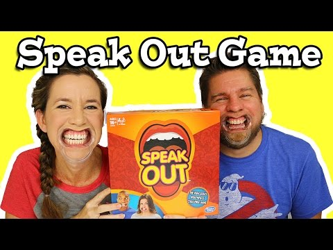 Speak Out Game Play And Review - Mouthguard, Mouthpiece Challenge