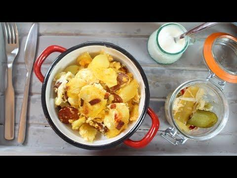 Hungarian Layered Potatoes (Rakott Krumpli)