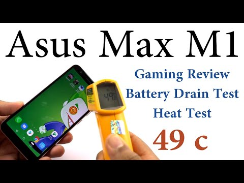 Asus ZenFone Max M1 Gaming Review, Battery Drain Test, Heat Test