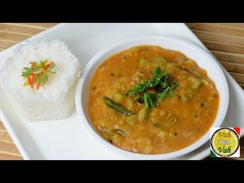 Masala Dal with Onion Tomato Gravy - By Vahchef @ vahrehvah.com
