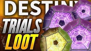 Destiny 2: TRIALS OF THE NINE LOOT & FLAWLESS PASSAGE/RUN! (Destiny 2 Legendary Exotic Loot)