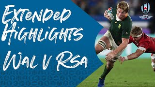 Extended Highlights: Wales 16-19 South Africa - Rugby World Cup 2019
