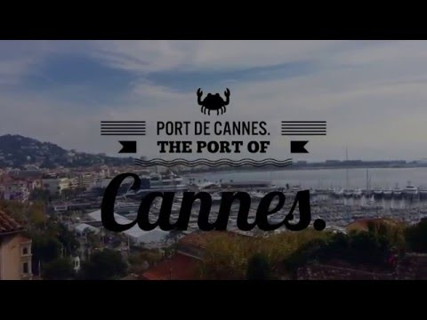 The Port of Cannes - Port de Cannes in France