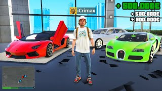 Ich VERKAUFE Luxus AUTOS in GTA 5 RP!