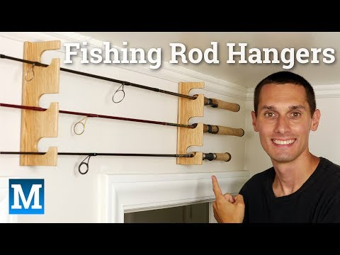 How to Make Fishing Rod Hangers