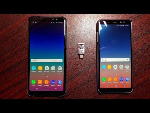Samsung Galaxy A8/A8 Plus USB OTG test!