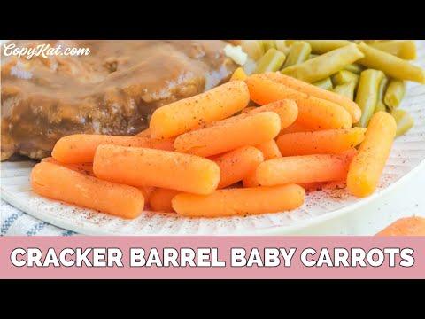 How to Make Copycat Cracker Barrel Carrots