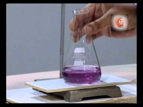 Determination of hardness of Water