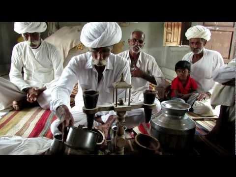 Opium tea cerimony