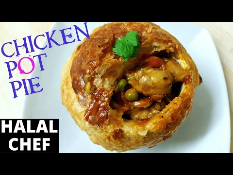 HOW TO MAKE CHICKEN POT PIE RECIPE | MUST TRY!!! | Halal Chef