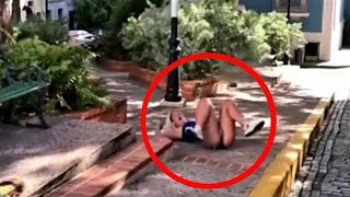 20 WEIRDEST THINGS EVER CAUGHT ON SECURITY CAMERAS & CCTV
