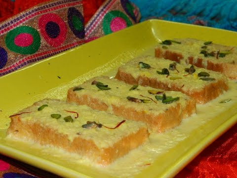Instant Shahi Tukda / Instant Double ka Meetha / Sweet Bread / Healthy Dessert - By Food Connection