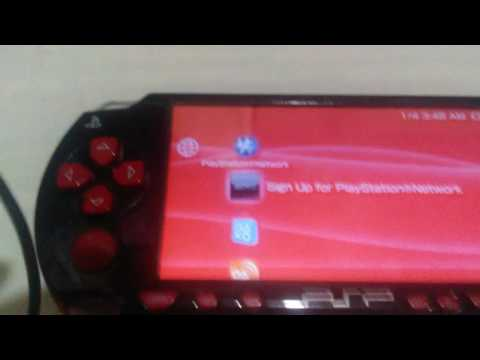 PSP Update and PSPN Sign up error [Please Help]