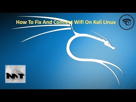 How To Fix And Connect Wifi On Kali Linux