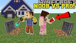Minecraft: NOOB VS PRO!!! - HELLO NEIGHBOR - Mini-Game